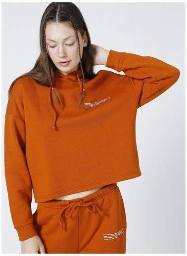 Only Sweatshirt Oranj